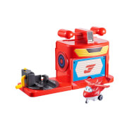Super Wings Hangar Spielset 2f.sort.