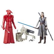 Hasbro C1242EU4 Star Wars Episode 8 Forcelink Figuren 2er-Pack, ca. 10 cm, ab 4 Jahren