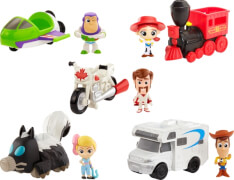 Mattel GCY49 Toy Story 4 Minis Figuren & Vehicle sortiert