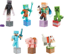 Mattel GCC11 Minecraft Comic Maker Actionfiguren sortiert