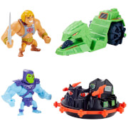 Mattel GXP36 Masters of the Universe Eternia Mini Vehicles and Creatures, sortiert