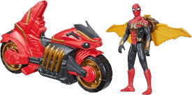 Hasbro F11105L0 Spiderman 3 MOVIE 6IN FIGURE AND VEHICLE SPY