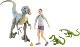 Mattel GWM24 Jurassic World Human & Dino Pack, sortiert