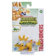 Hasbro F29495L0 Transformers Dinobot Adventures Dinobot Strikers Dinobot Snarl verwandelbares Spielzeug mit Schwanz Atta