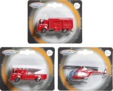 Speedzone D/C Feuerwehrfahrzeug, Freilauf, W125 x H100 mm