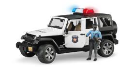 Bruder 02527 Jeep Wrangler UR Polizei und Polizist dunkel