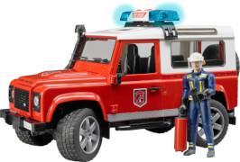 Bruder 02596 Land Rover Station Wagon Feuerwehr