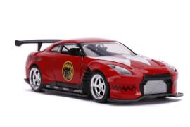 Jada Power Rangers 2009 Nissan GT-R R35 1:32