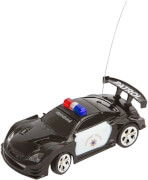 RC Police Mini Racer Black