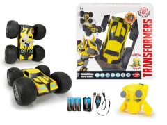 Dickie Toys Transformers RC Flip 'N' Race Bumblebee RT Auto mit Fernbedienung