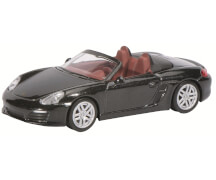 Porsche Boxster, schwarz 1:64
