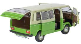 VW T3 Bus, beige/grün 1:18