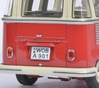 VW T1 Samba, beige/rot 1:32