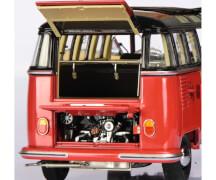 VW T1b Samba, braun/rot 1:18
