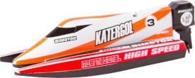 RC Mini Race Boat Red