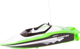 RC Mini Speed Boat Green