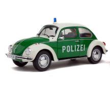 1:18 VW Käfer 1303 Polizei grün/weiß