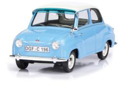 Goggomobil blau/weiß 1:18