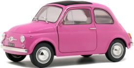 Solido 1:18 Fiat 500 F (1969) pink