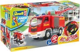 Revell Junior Kit RC Feuerwehrfahrzeug im Maßstab 1:20