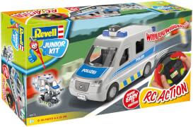 Revell Junior Kit RC Polizeiwagen im Maßstab 1:20