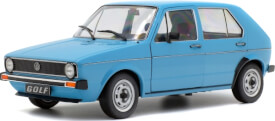 Schuco  1:18 VW Golf L, blau, 1983