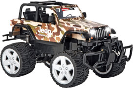 CARRERA RC - 2,4GHz Jeep[R] Wrangler Rubicon, camouflage