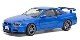 1:18 Nissan R34 GTR blau