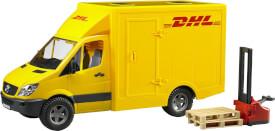 Bruder 02534 MB Sprinter DHL und Handhubwagen