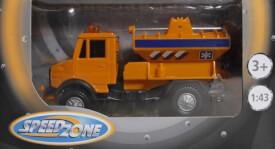 Speedzone D/C Baufahrzeuge, 6-fach sortiert, 1:43