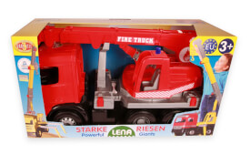LENA® Starke Riesen Feuerwehr-Kranwagen Modell Arocs