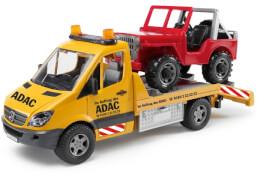 Bruder MB Sprinter ADAC Abschlepp-LKW, ca. 51x18,5x22 cm, ab 3 Monaten