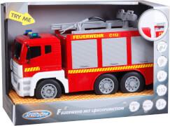 Speedzone D/C Feuerwehr mit Licht und Sound, 1:12