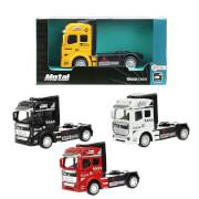 TOITOYS METAL Lastwagen 12cm Rückzug, 4-fach sortiert