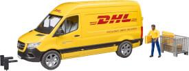 Bruder 02671 MB Sprinter DHL mit Fahrer