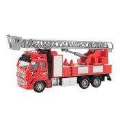 TOITOYS METAL Feuerwehrauto 1:38 Rückzug