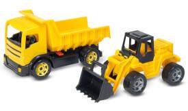 Schaufellader und LKW Kipper Bundle