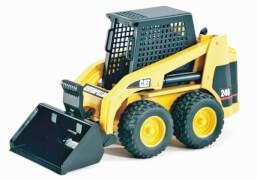 Bruder 2431 CAT Kompaktlader, ab 4 Jahren, Maße: 29 x 21 x 12 cm, Kunststoff