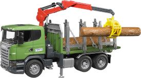 Bruder 03524 SCANIA R-Serie Holztransport LKW