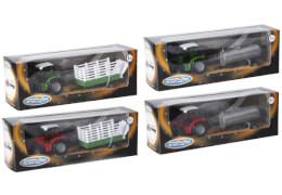 Speed Zone D/C Traktor mit Hänger, 19 cm, 2-fach sortiert, ab 3 Jahren (nicht frei wählbar)