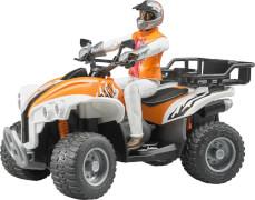 Bruder 63000 Figurenset-Quad mit Fahrer