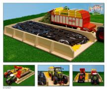 Fahrsilo für Traktoren 1:32