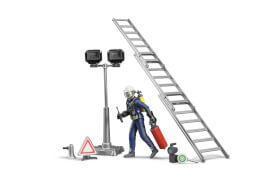Bruder 62700 Figurenset Feuerwehrmann mit Atemschutz