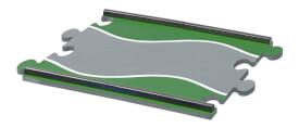 SIKU 6853 Racing Fahrbahn Set (Sondermatten)
