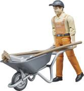 Bruder 62130 Figurenset Kommunalarbeiter, ab 4 Jahren, Maße: 18,8 x 15,6 x 5 cm, Kunststoff
