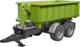 Bruder 02035 Hakenlift-Anhänger für Traktoren