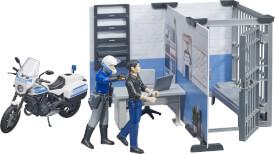 Bruder 62732 bworld Polizeistation mit Polizeimotorrad