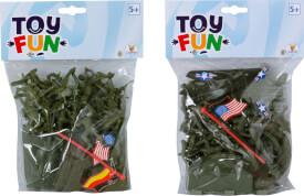 Toy Fun Soldaten Spiel-Set, 2-fach sortiert
