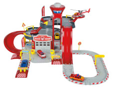 Majorette Creatix Rescue Station 1 Heli+Car