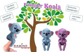 Finger Koala, 2-farbig sortiert